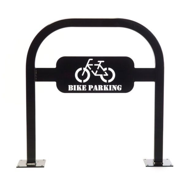 02 – Custom Double Bend Inverted U Bike Dock