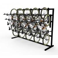 K21™ Single Sided Free Standing Vertical Bike Rack