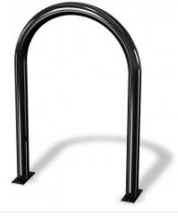 Inverted U Single Bend Hoop Rack