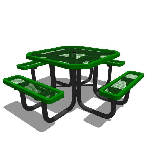 46 Octagonal Portable Table