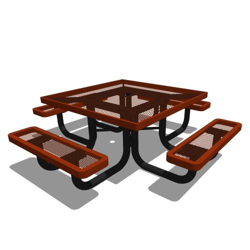 46 Children's Square Portable Picnic Table