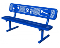 Puppy Paws Dog Bench