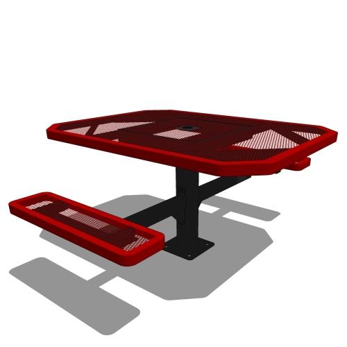 46 Octagonal Portable Table – 2 Seat