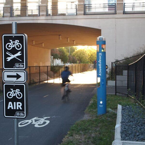 Air & Bike Repair Sign