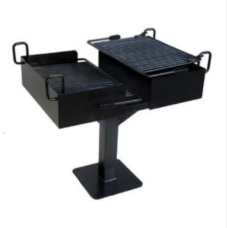 Commercial Outdoor Barbecue Grill – 1064 Square Inch