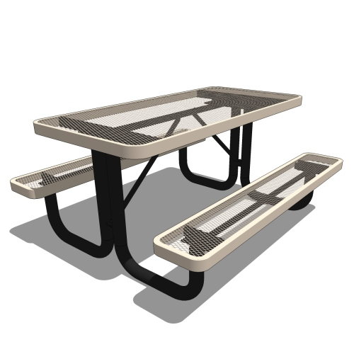 4′ Children's Rectangular Portable Picnic Table