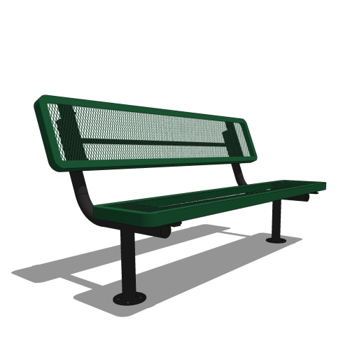 6′ Player's Portable Bench with Back