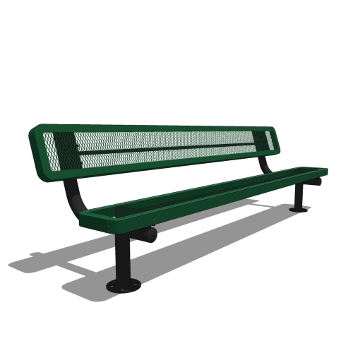 8′ Children's Bench with Back