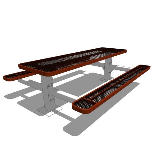 8′ Independent Pedestal Table