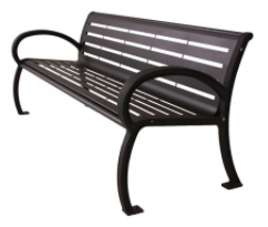 Wilmington Bench With Back