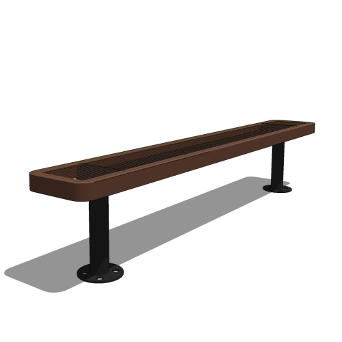 Player's Bench Without Back