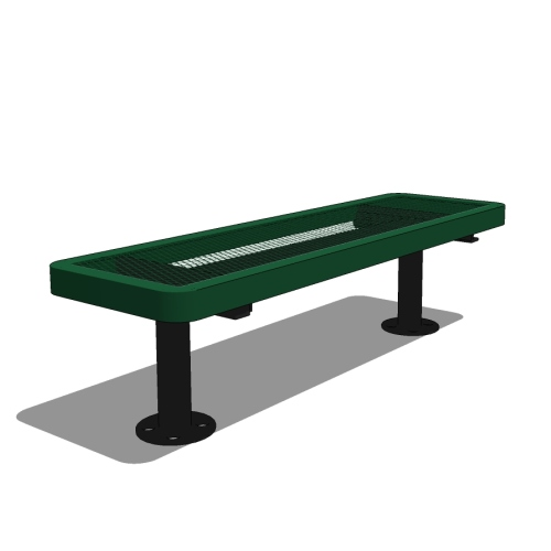 4′ Children's Player's Bench without Back