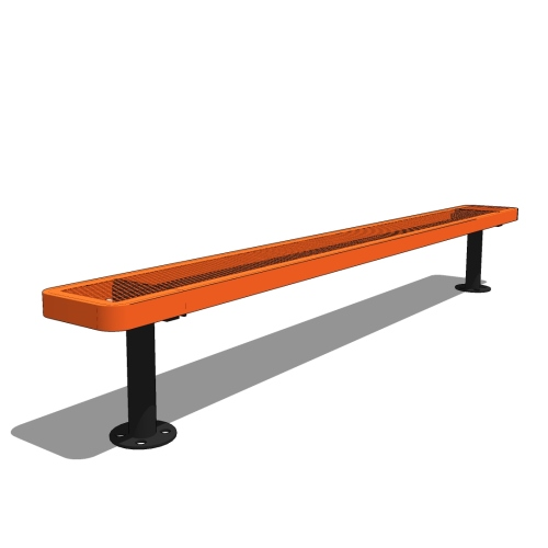 8′ Children's Bench without Back