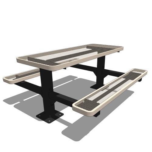 6′ Double Pedestal Table
