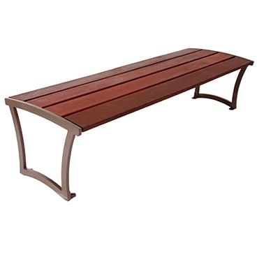 Madison Bench Without Back – Ipe Wood
