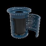Skyline Swing Door Trash Receptacle – 32 Gallon