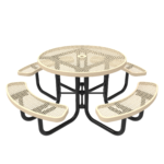 Children's Round Portable Picnic Table