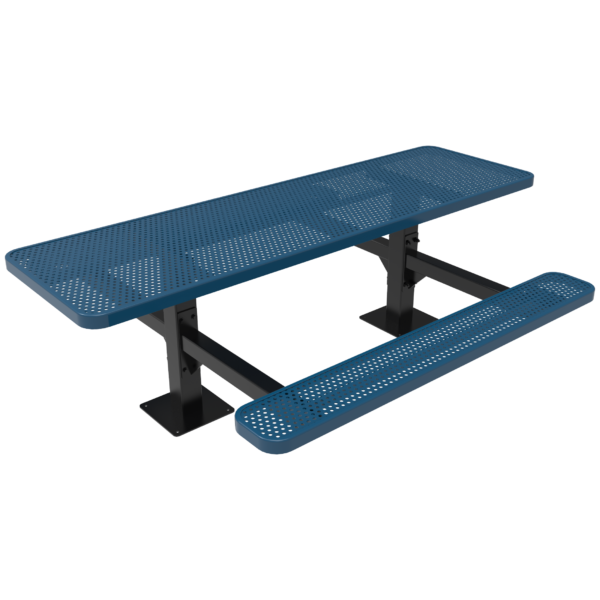 Rectangular Double Pedestal Table – 2 Sided Accessible