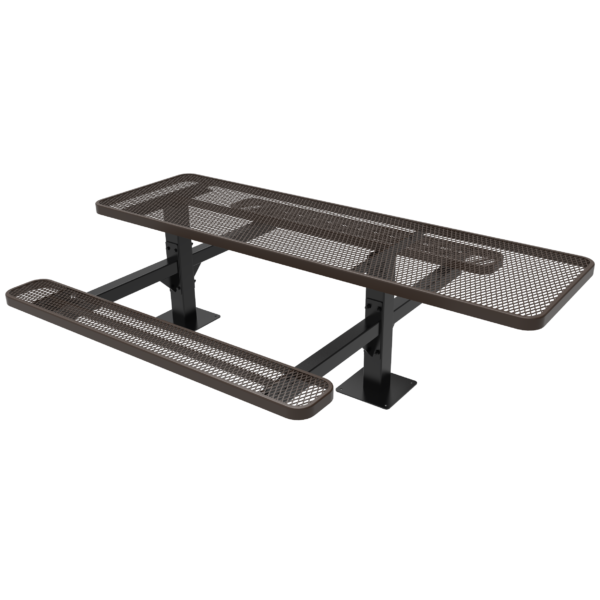 Rectangular Double Pedestal Table – Accessible