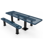 Rectangular Independent Pedestal Table – Accessible