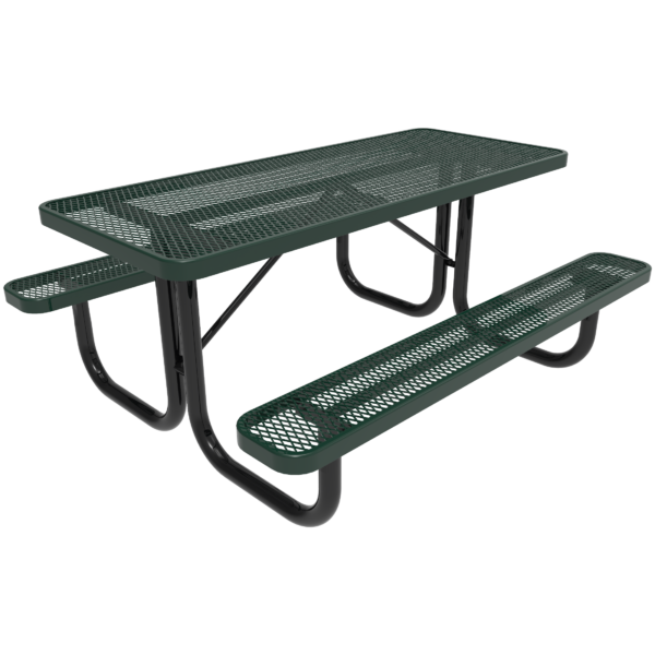 Portable Rectangular Picnic Table