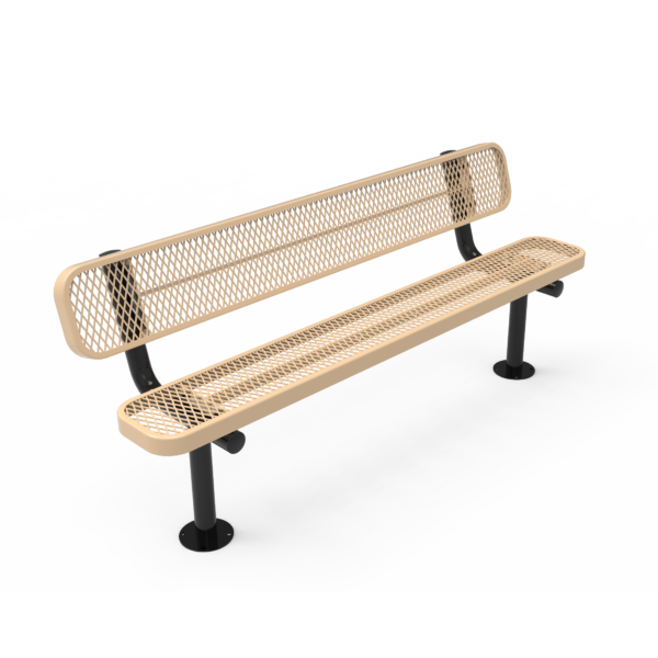 Standard Bench with Back