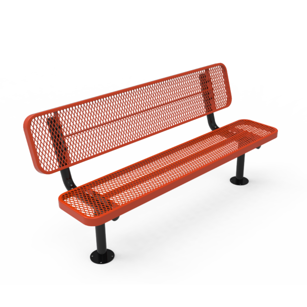 Player's Bench with Back
