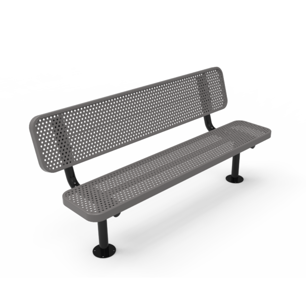 Children's Player's Bench with Back